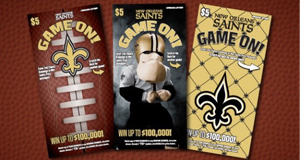Louisiana Lottery Announces Final Saints Game On! Second-Chance Drawing Entry Deadline