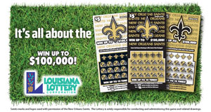 Lottery Reminds Fans Of First Saints Second-Chance Drawing Deadline