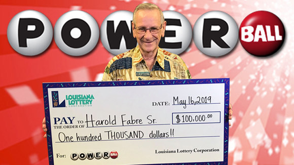 BIG Powerball Win!  no script