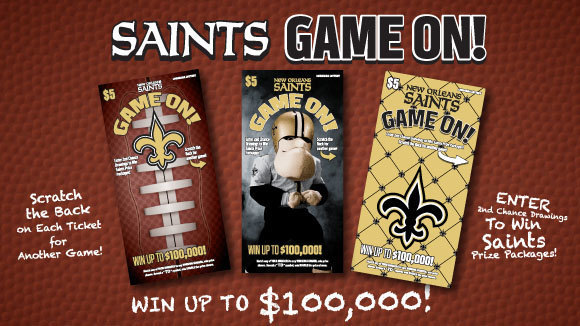 SAINTS GAME ON!  no script
