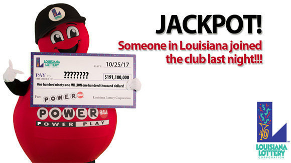 $191.1 million powerball ticket sold in eunice wins largest louisiana lottery prize ever