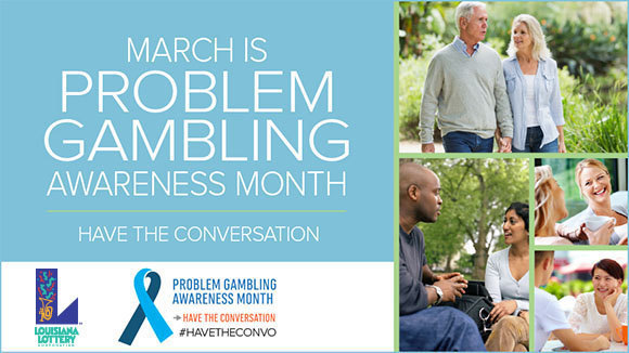 Louisiana Lottery Commemorates Problem Gambling Awareness Month