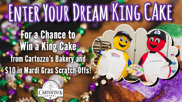 King Cake Giveaway! no script
