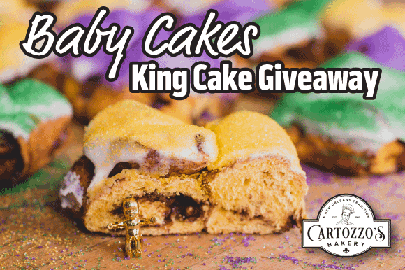 Lottery Kicks Off King Cake Giveaway With Its Mardi Gras Games