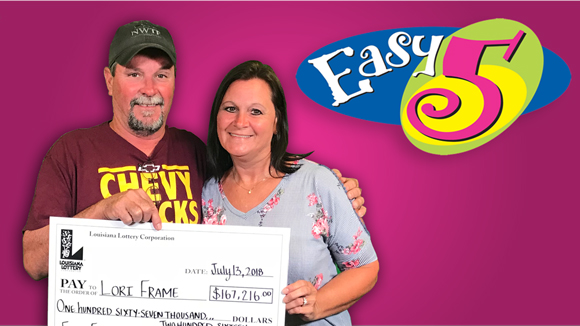 Trip Detour Turns Lucky For Iberville Couple Playing Easy 5