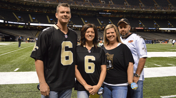 New Orleans Native Wins Saints Fever! Behind The Scenes Experience