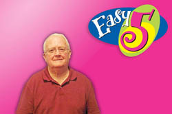 Stonewall Man Claims $60,000 Easy 5 Jackpot Prize