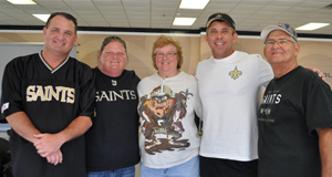 lifelong saints fan wins vip tour, season tickets after playing the louisiana lottery