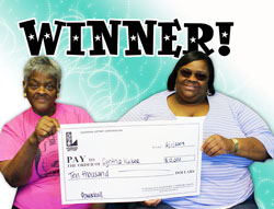 baton rouge woman claims $10,000 powerball prize