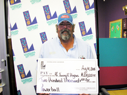 shreveport resident claims $200,000 powerball prize from aug. 9 drawing