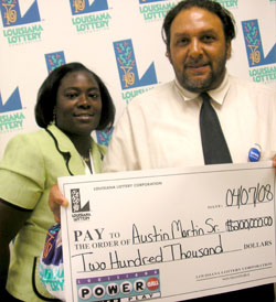 slidell resident claims a $200,000 powerball prize