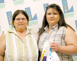 lockport woman tries new game and wins top prize