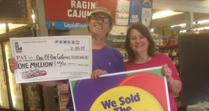 Twenty-Five Year Lottery Retailer Sells $1 Million Winning Powerball Ticket