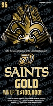 Saints Gold Logo