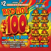 Red Hot $100s Logo