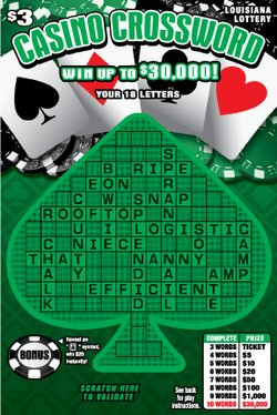 Casino Crossword image