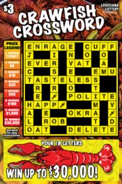 Crawfish Crossword Logo