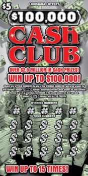 $100,000 Cash Club Logo