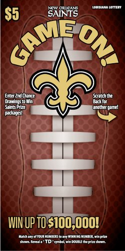 Saints Game On! Scene 2 Front mobile