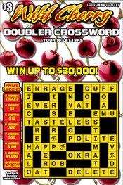 Wild Cherry Doubler Crossword Logo