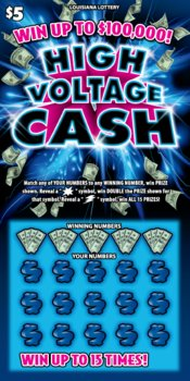 High Voltage Cash Logo