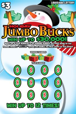 Jumbo Bucks - Halloween / Holida Scene 2 Front mobile
