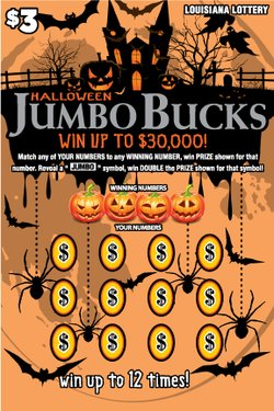 Jumbo Bucks - Halloween / Holida Scene 3 Front mobile