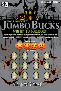 Jumbo Bucks - Halloween / Holida Scene 4 Front mobile