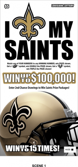I Love My Saints image