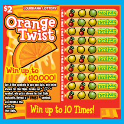 Orange Twist image