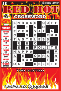 Red Hot Crossword image