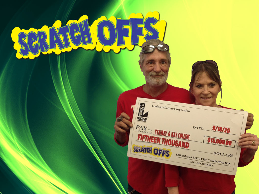 Brenda Kay Collins won 15,000 playing Wild Cash