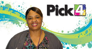 Charlene Ellis won 2,900 playing Pick 4