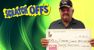 Kenneth Sonnier won 20,000 playing 10x Lucky