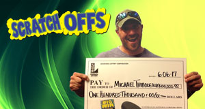 Michael Thibodeaux won $100,000 playing Big Win