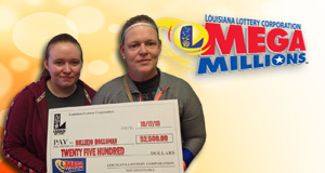 Billiejo Holloman won 2,500 playing Mega Millions