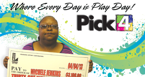 Michelle Jenkins's Pick 4 winner photo