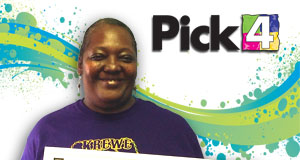 Pamela Hargrove won 2,700 playing Pick 4