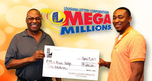 Alvin Hodge's Mega Millions winner photo