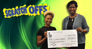 Candis Hemphill won $30,000 playing Diamond Bingo
