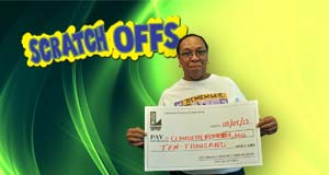 Claudette Mitchell's Bullseye Cash winner photo