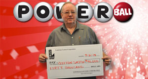 Clifton Smith's Powerball winner photo