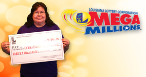 Debra Blankenbeckley's Mega Millions winner photo