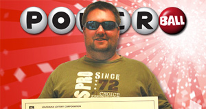 Glen Edward Brown II's Powerball winner photo