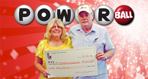 Jerry Cockerham's Powerball winner photo