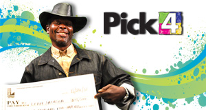 Leroy Jackson's Pick 4 winner photo