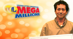 Manuel Sirias's Mega Millions winner photo