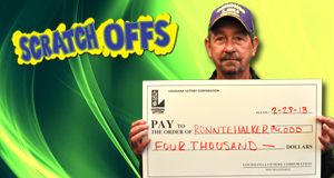 Ronnie Halker 's Rapid Refund winner photo