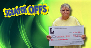 Sandra Roy's Firecracker Cash winner photo