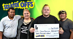 Shane Chiasson won 12,000 playing King Of Mardi Gras